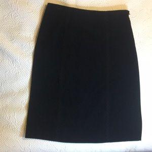 Talbots black pencil skirt, size 10.